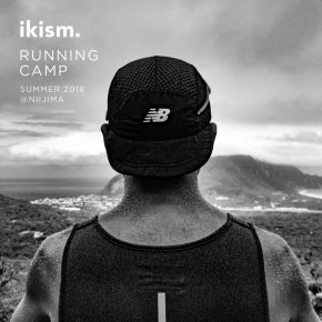 【RUNNING DAYS】ikism RUNNING CAMP 新島 PHOTOLOG